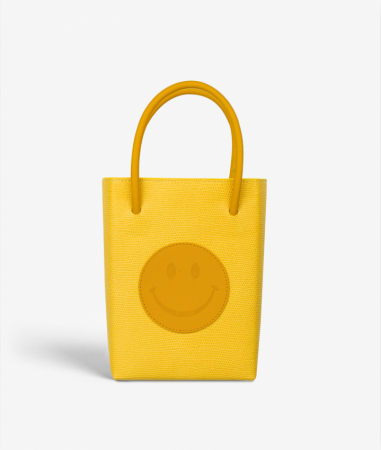 The Essential Crossbody Bag Smiley Lizard Limone