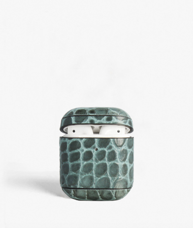 AirPod Case Crocodile Teal