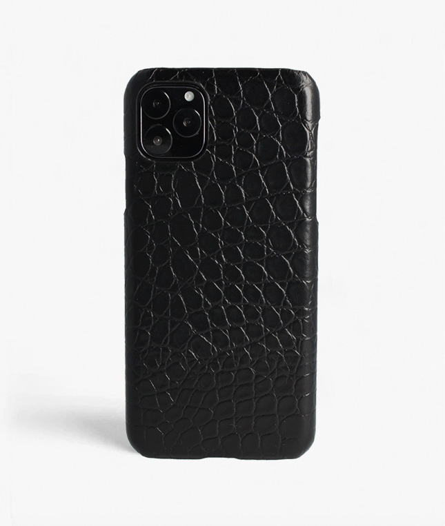 iPhone 11 Pro Max Crocodile Black
