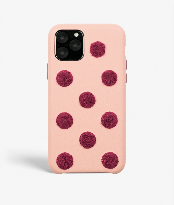 iPhone 11 Pro  / iPhone X/Xs Big Dots Pink
